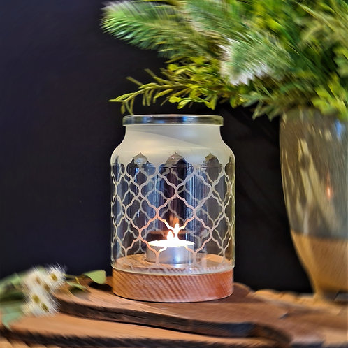 Medium Jar Candle Holders