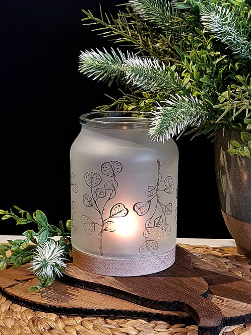 Large Jar Candle Holders