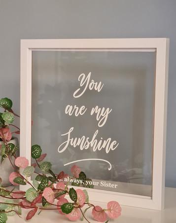 Custom Framed Quotes