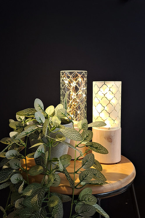 Cylinder Twinkle Lights | Moroccan