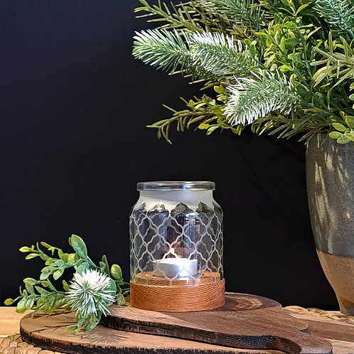 Small Jar Candle Holders