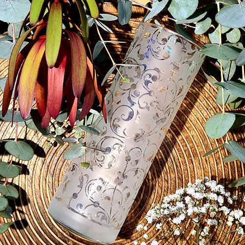 Reclaimed Wine Bottle Vase