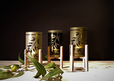 Cylinder Candle Holders