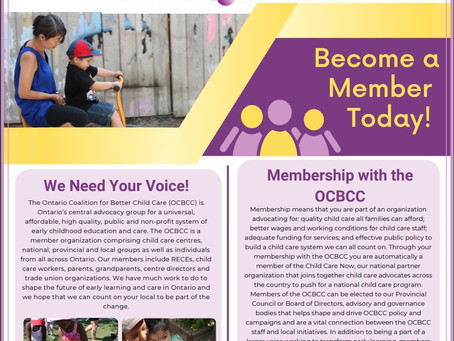 Ontario Coalition for Better Childcare
