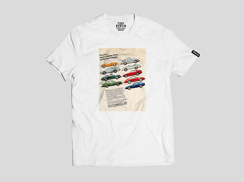 T-shirt Vintage Series - Porsche