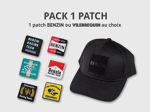 Pack Casquette BENZIN Racing - Noire