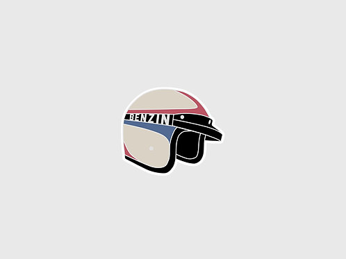 Sticker Casque Benzin Racing