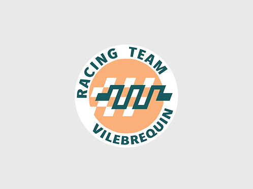 Sticker rond Vilebrequin Racing Team