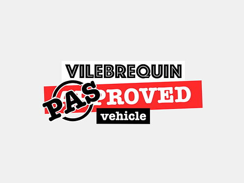 Sticker Vilebrequin PAS Approved