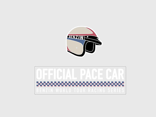 Sticker Benzin Racing Duo Pack