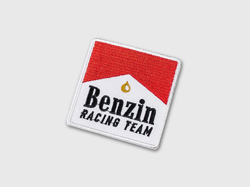 Patch brodé interchangeable Benzin Red Team