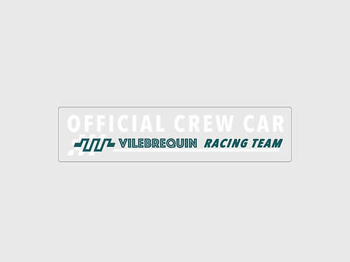 Sticker Vilebrequin Official Crew Car
