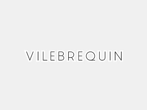 Sticker Vilebrequin blanc