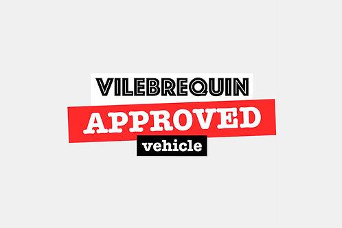 Sticker Vilebrequin Approved