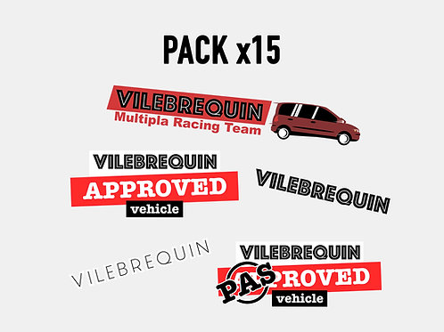 Sticker Mega Pack Vilebrequin (x15)