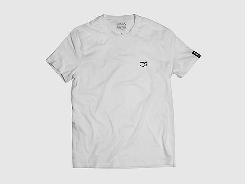 T-shirt Casque brodé