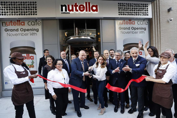 NUTELLA NYC GRAND OPENING