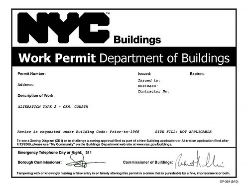 Work Permit  (Obtain/Renew)