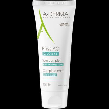 A-Derma Phys-AC Global Crema Anti-Imperfecciones 40ML