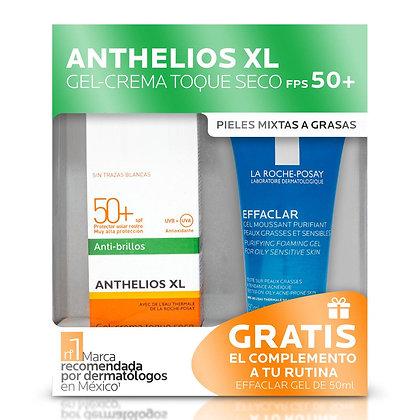 Set Anthelios XL Toque Seco FPS50+ 50ml + Mini Gel