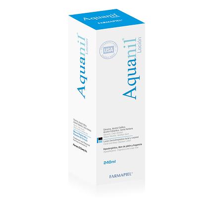 Aquanil Loción Dermolipiadora Facial y Corporal 240ml