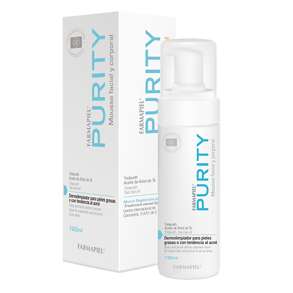 Purity Mousse Dermolimpiador 160ml