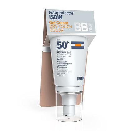 Fotoprotector ISDIN Gel Cream Dry Touch BBCream SPF50+