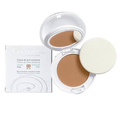 Avene Maquillaje Compacto Oil Free 2.5 Beige 10Gr