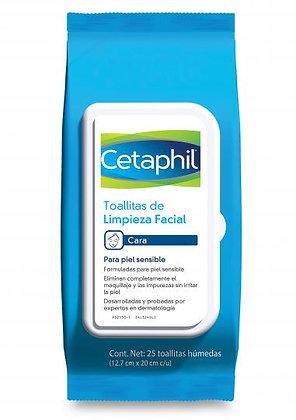 Cetaphil® Toallitas de Limpieza Facial