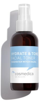 Tonico Facial Hidratante con Agua de Rosas y Witch Hazel 120ml