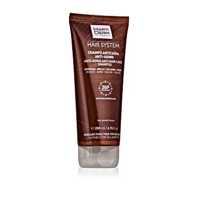 MartiDerm  Hair System 3GF Campu anticaida Anti-Aging  200ml.
