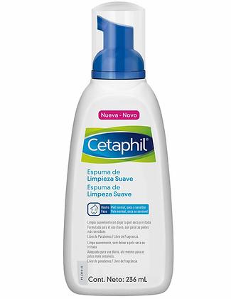 Cetaphil Espuma de limpieza suave 236ml