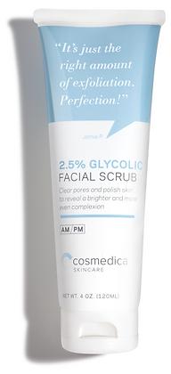 Gel Exfoliante Suave Facial 2.5% Glicolico 120ml
