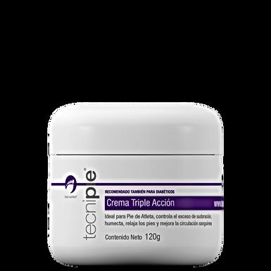 Tecnipie | Crema Triple Acción 120ml