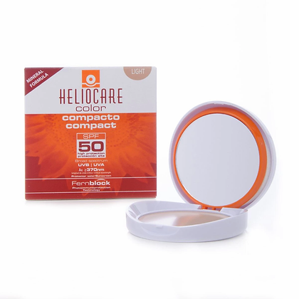 Heliocare Color Compacto Mineral Light con FPS 50 10grs