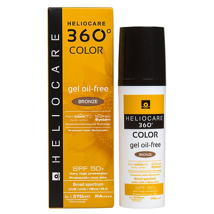 Heliocare 360° Color Gel Oil Free Bronze FPS 50+ 50ml
