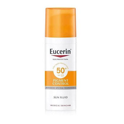 Eucerin Sun Fluid Pigment Control FPS 50+ 50ml