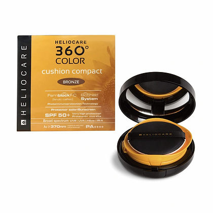 Heliocare 360° Color Cushion Compact Bronze FPS 50+ 15grs