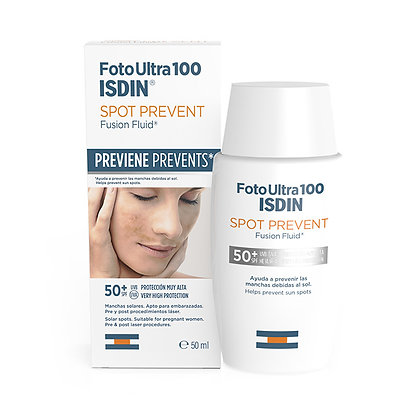 Foto Ultra 100 ISDIN Spot Prevent Fusion Fluid SPF 50+ 50ml