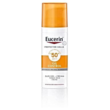 Eucerin Sun Gel-Crema Oil Control Toque Seco FPS 50+ 50ml
