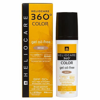 Heliocare 360° Color Gel Oil Free Beige FPS 50+ 50ml