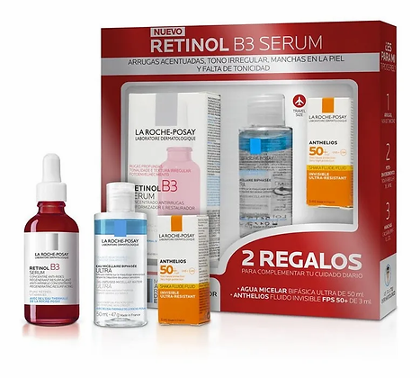 Kit Retinol B3 Serum 30ml + Mini Agua Micelar Bifasica