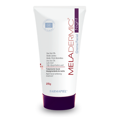 Meladermic Night Crema Facial Despigmentante de Noche 25g
