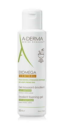 A-Derma Exomega Control Gel Moussant Emoliente 500ml