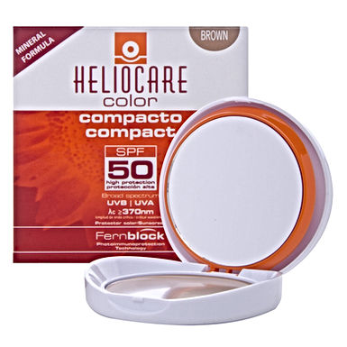 Heliocare Color Compacto Mineral Brown con FPS 50 10grs