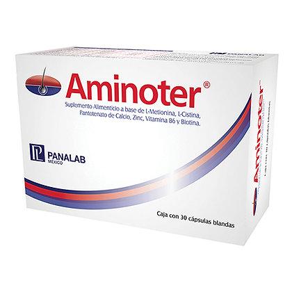 Aminoter Cápsulas Anticaida C/30 Cápsulas
