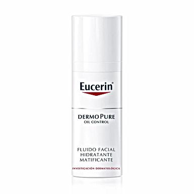 EUCERIN DERMOPURE OIL CONTROL Fluido Facial Hidratante Matificante 50ml