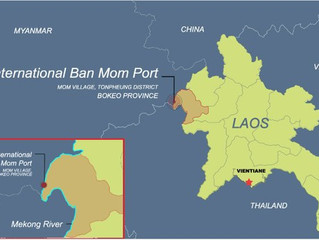 Chinese Casino Kingpin Behind New Mekong Port to Serve Golden Triangle Special Economic Zone in Laos