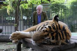 John with Tiger