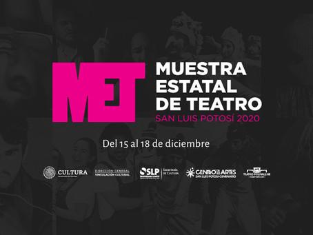 Regresa el teatro potosino en la MET 2020